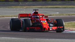 F1 Test Ferrari 2021, Fiorano: Carlos Sainz Jr sulla Ferrari SF71H