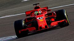 F1 Test Ferrari 2021, Fiorano: Mick Schumacher sulla SF71H