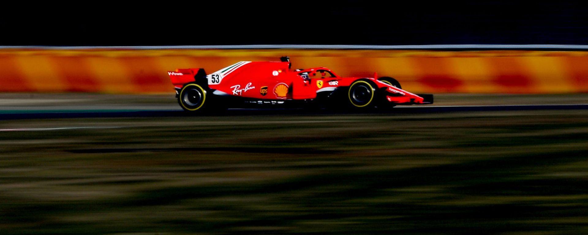 F1, test Ferrari Fiorano 2021: Callum Ilott