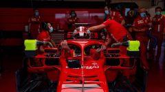 F1 Test Ferrari Mugello 2020: Charles Leclerc sale in macchina