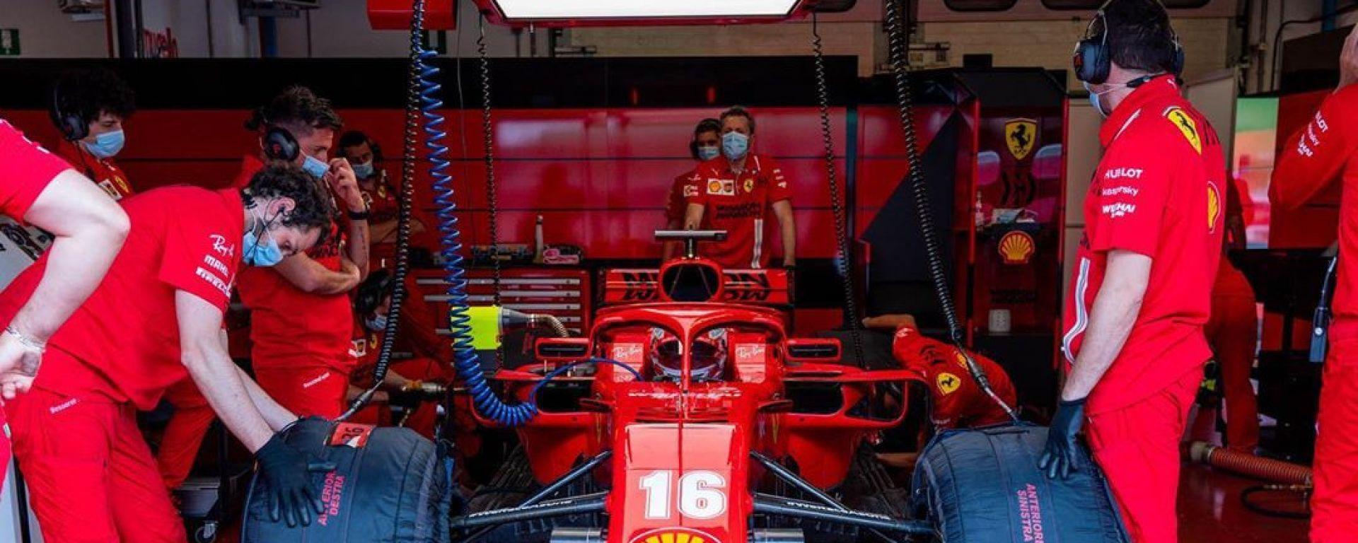 F1 Test Ferrari Mugello 2020: Charles Leclerc sulla SF71H