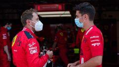 F1 Test Ferrari Mugello 2020: Sebastian Vettel e Charles Leclerc