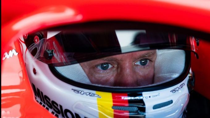 F1 Test Ferrari Mugello 2020: Sebastian Vettel (Scuderia Ferrari)