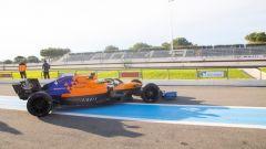 McLaren conclude i test sulle Pirelli da 18 pollici