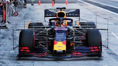 F1 Test Pirelli Abu Dhabi 2019, Max Verstappen (Red Bull)