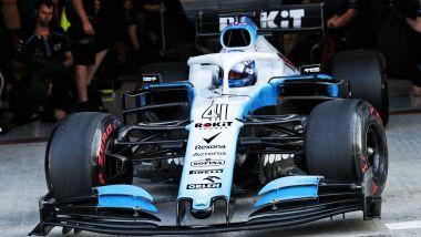 F1 Test Pirelli Abu Dhabi 2019, Yas Marina: Roy Nissany debutta con la Williams