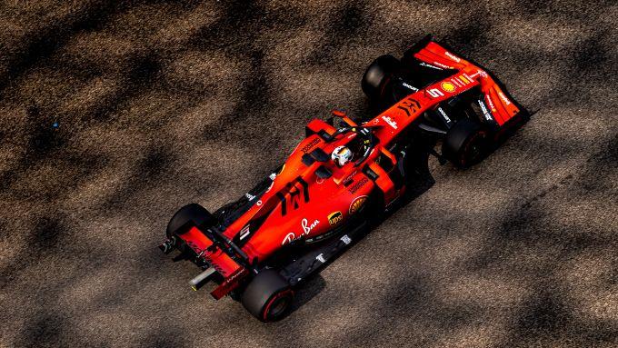 F1 Test Pirelli Abu Dhabi 2019, Yas Marina: Sebastian Vettel (Ferrari)