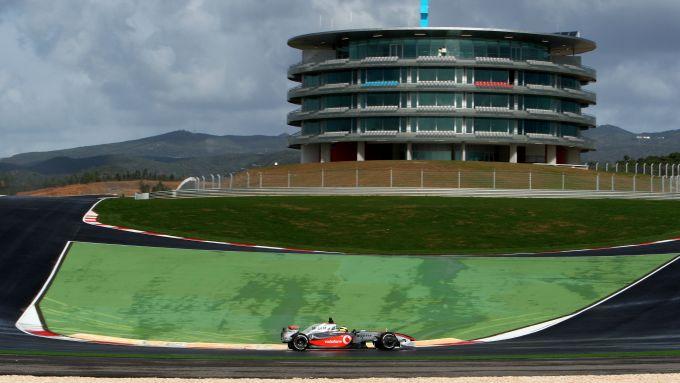 F1 Test Portimao 2009: Lewis Hamilton (McLaren-Mercedes)