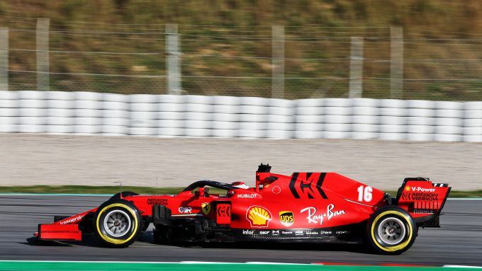 F1 Testing 2020: Charles Leclerc (Ferrari SF1000)