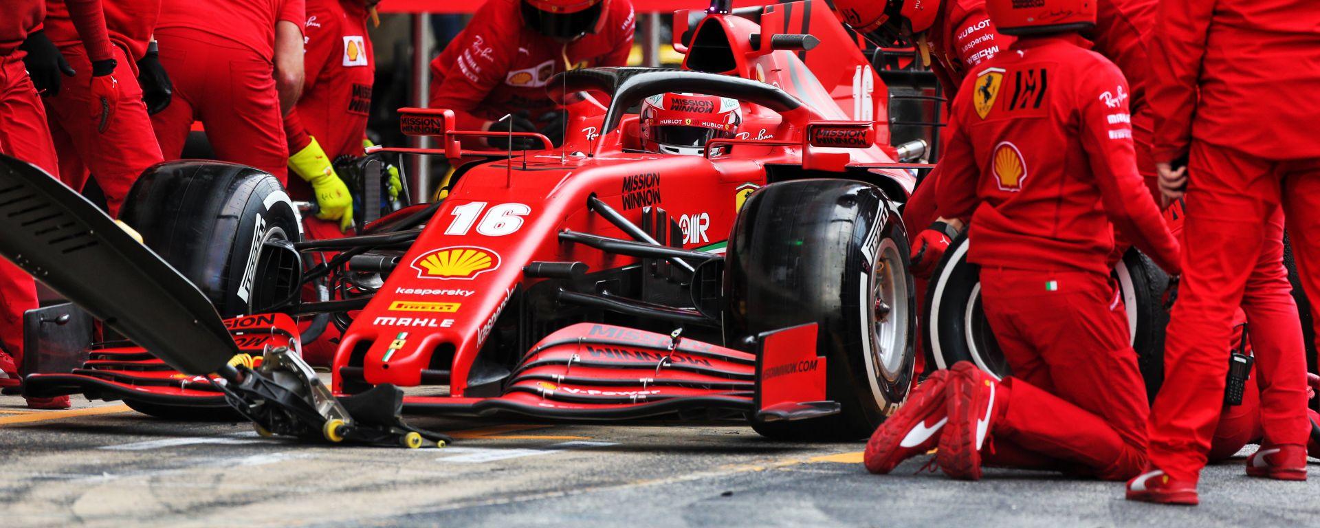 F1 Testing 2020: Charles Leclerc (Ferrari)