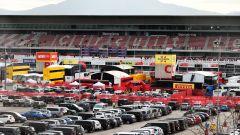 F1 Testing 2020: il paddock di Barcellona