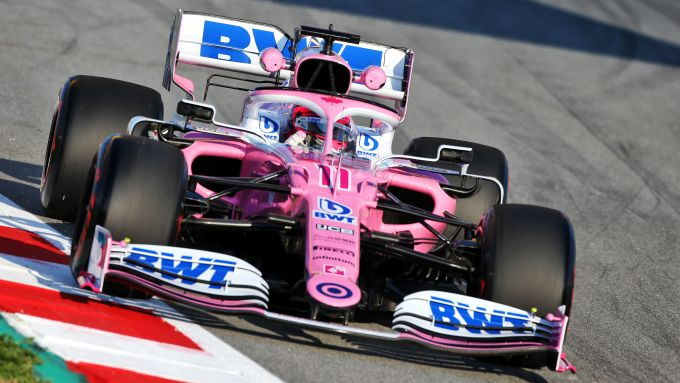F1 Testing 2020: la Force India RP20