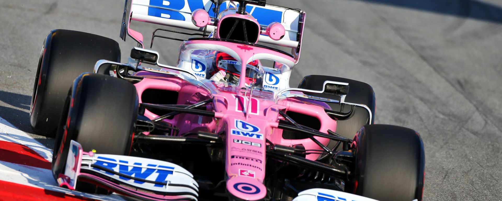 F1 Testing 2020: la Force India RP20