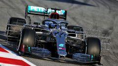 F1 Testing 2020: la Mercedes W11 con sensori aerodinamici