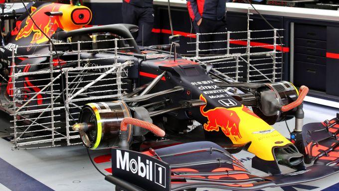 F1 Testing 2020: la Red Bull di Max Verstappen