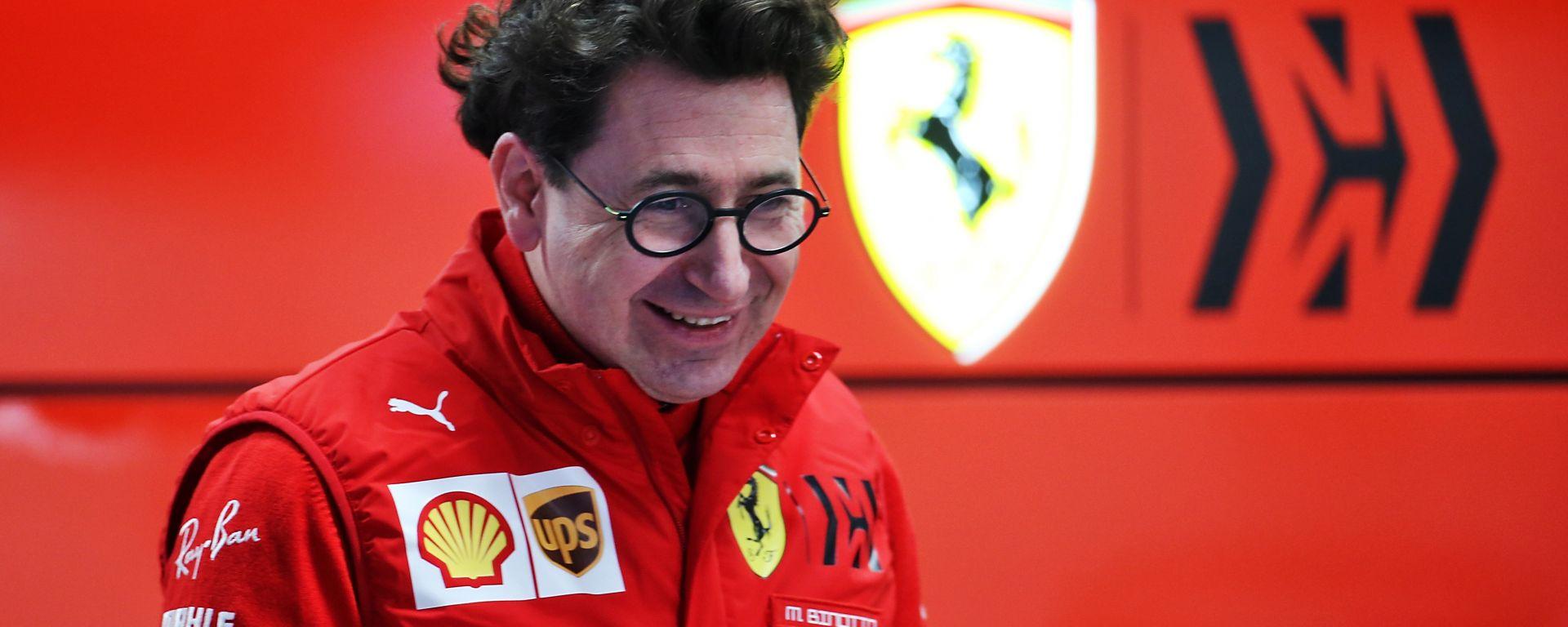 F1 Testing 2020: Mattia Binotto (Ferrari)