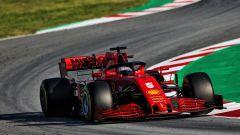 F1 Testing 2020: Sebastian Vettel (Ferrari SF1000)