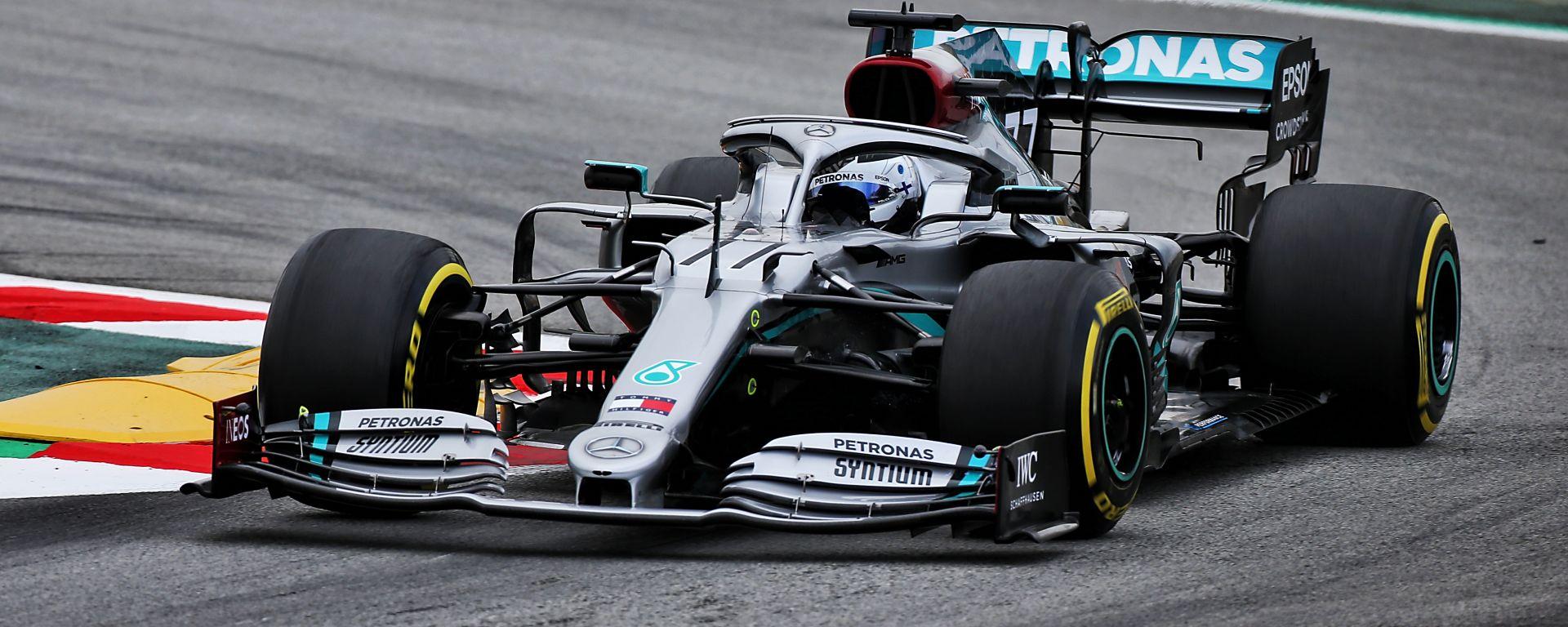 F1 Testing 2020: Valtteri Bottas (Mercedes)