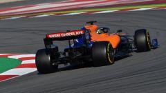 F1 Testing, Barcellona-2 day 1, Lando Norris (McLaren)