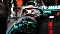 F1 Testing, Barcellona-2 day 1, Lewis Hamilton (Mercedes)