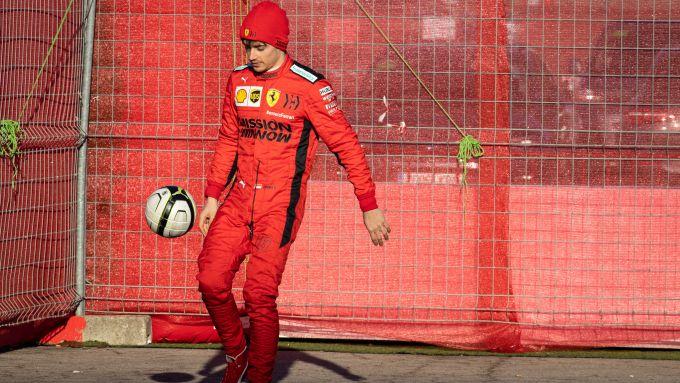 F1 Testing: Charles Leclerc (Ferrari)