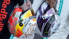 F1 Testing: Max Verstappen (Red Bull) e Lewis Hamilton (Mercedes)