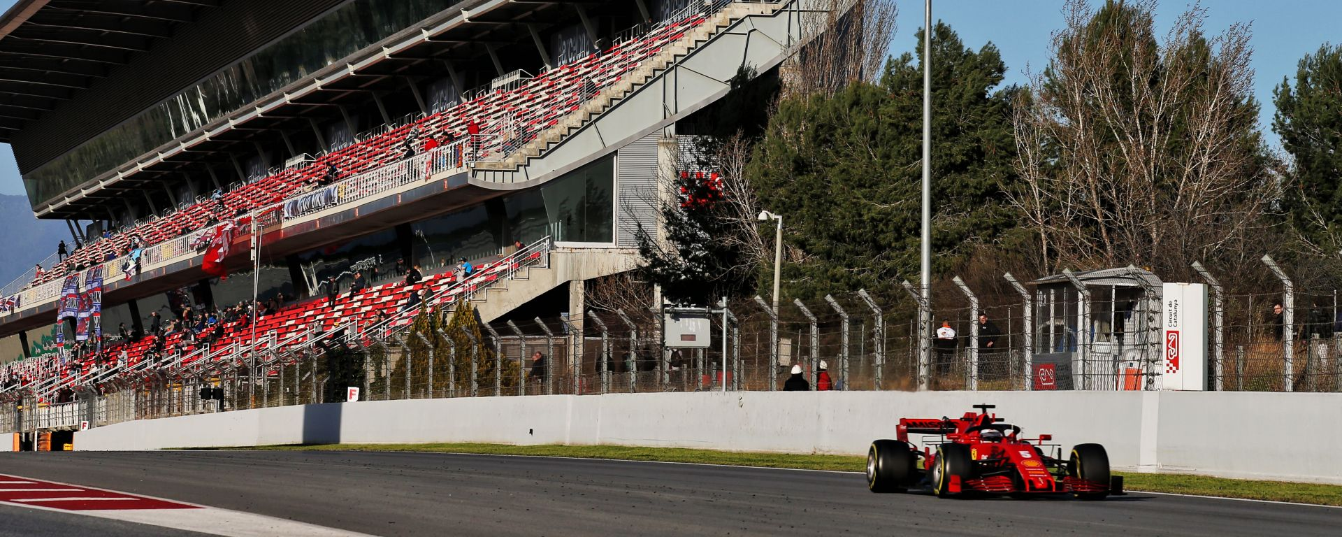 F1 Testing: Sebastian Vettel (Ferrari)