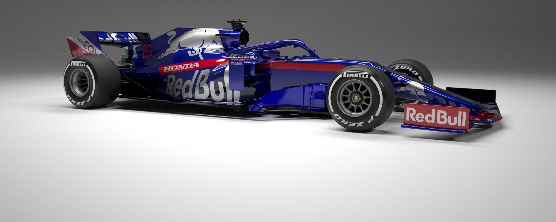 La Toro Rosso cambia nome: sarà Alpha Tauri