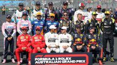 F1, tutti i piloti del campionato 2019