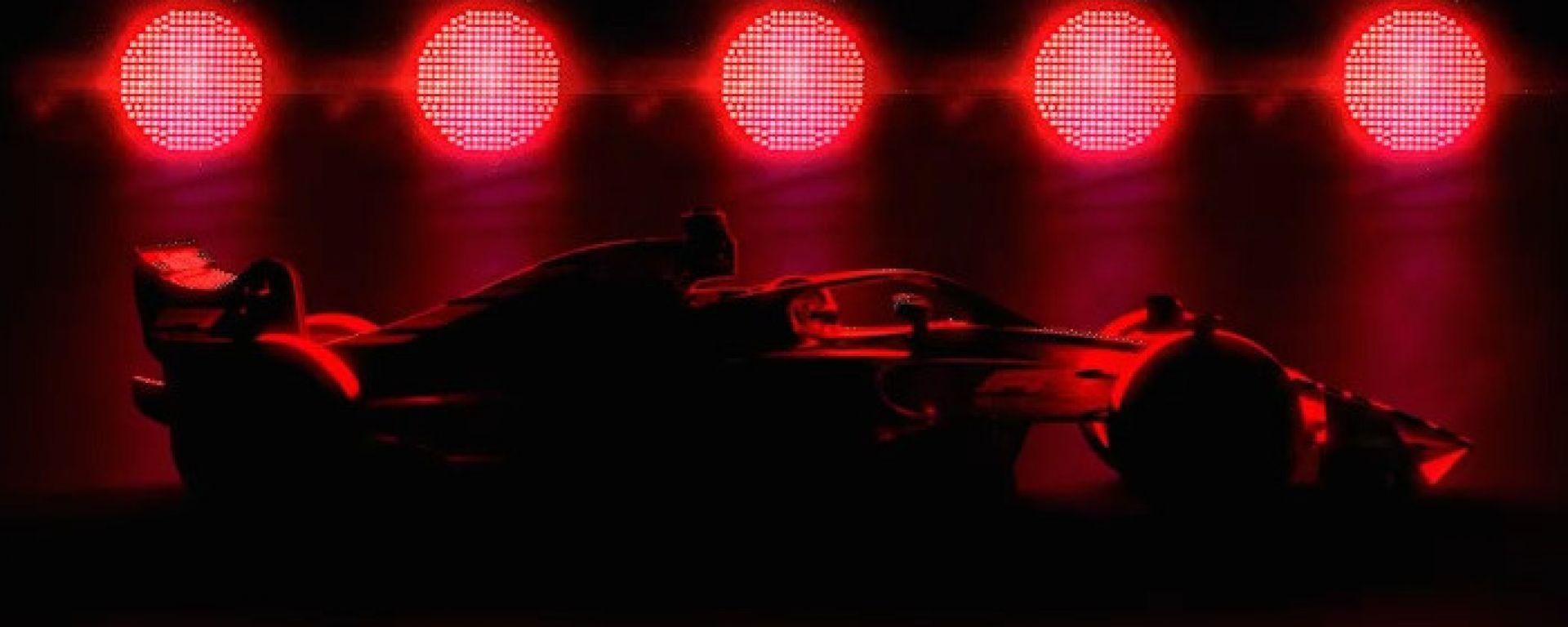 F1, un fotogramma dal teaser sulle macchine 2021