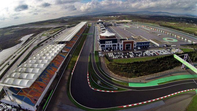 F1, veduta aerea del circuito di Istanbul