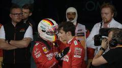 F1, Vettel e Leclerc dopo il GP del Bahrain 2019