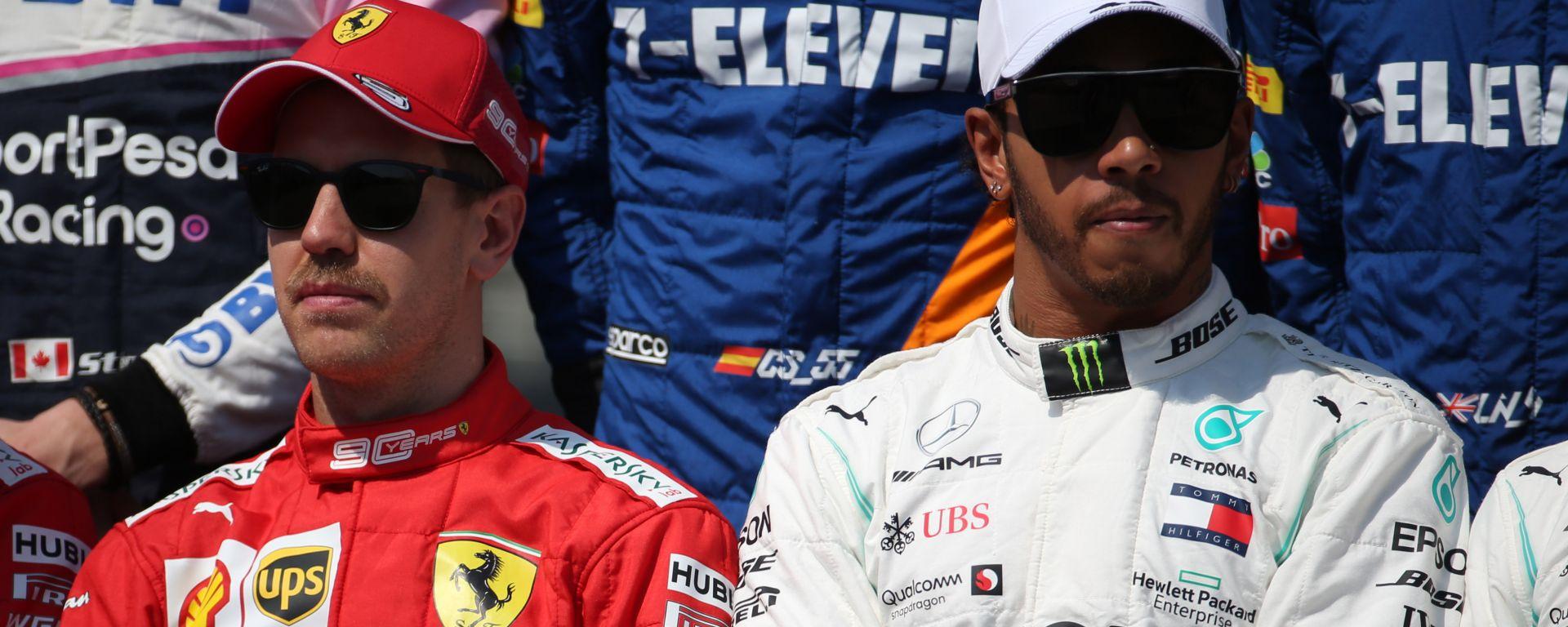 """F1, Vettel sul GP Australia di Hamilton: """"Forse si annoiava"""""""