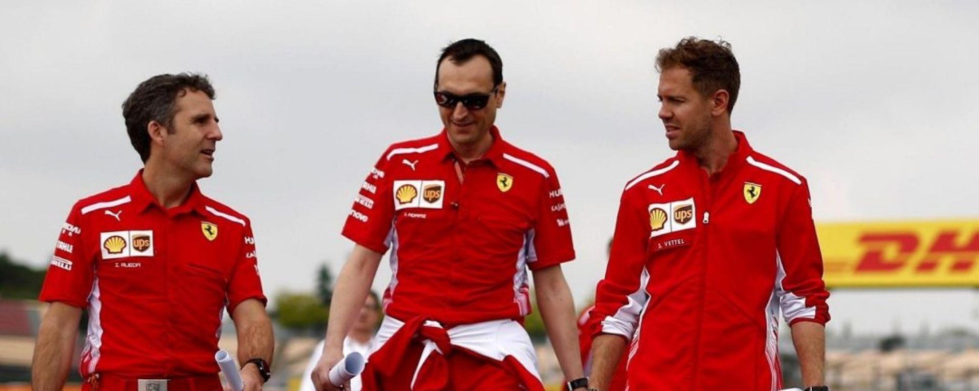 F1, Vettel: nel GP di Spagna ci saranno miglioramenti aerodinamici