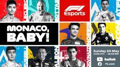 VirtualGP Monaco: record di piloti F1 a Monte Carlo