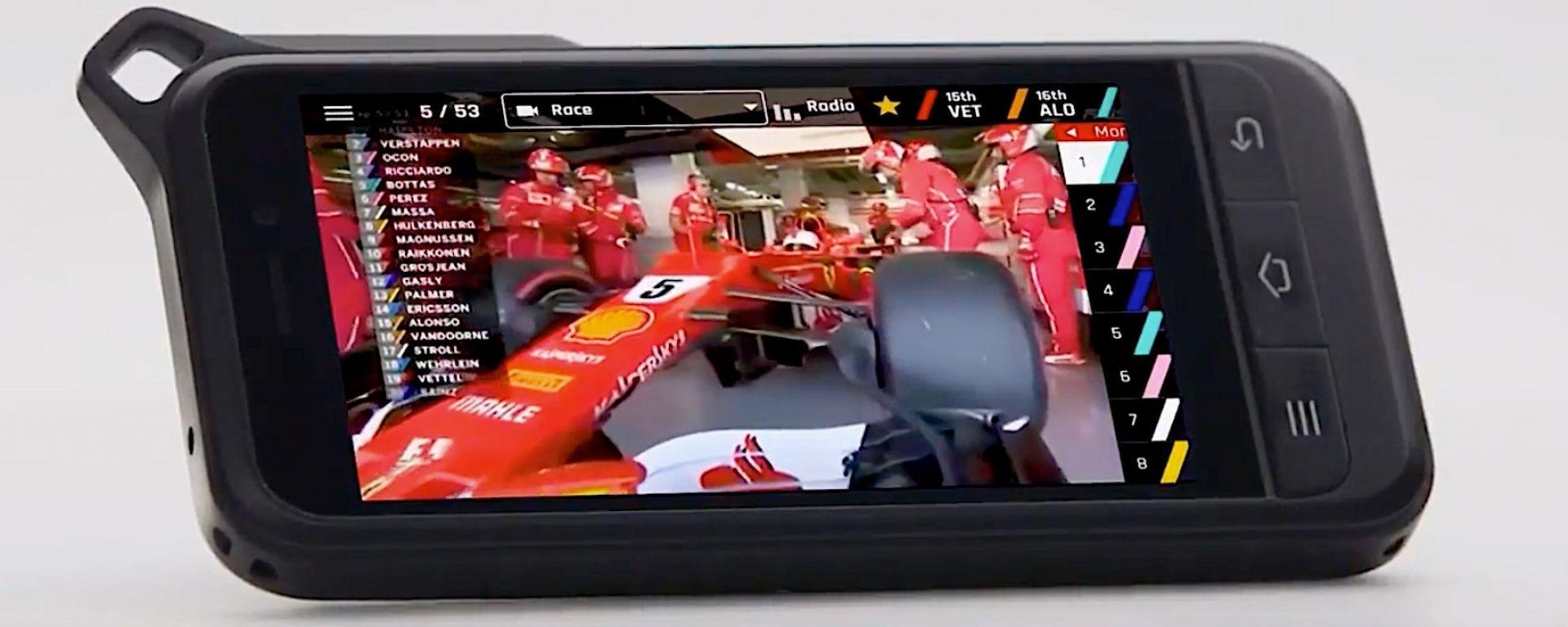 F1 Vision: il tablet per gli spettatori in tribuna