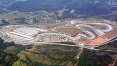 F1, vista aerea del circuito di Istanbul Park