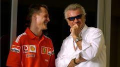 F1, Willi Weber e Michael Schumacher (Ferrari)