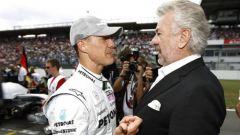 F1, Willi Weber e Michael Schumacher (Mercedes)