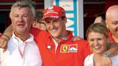F1, Willi Weber, Michael Schumacher (Ferrari), Corinna Betsch
