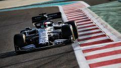 F1 Young Drivers Test Abu Dhabi 2020, Yas Marina: Yuki Tsunoda in pista con l'AlphaTauri