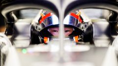 F1 Young Drivers Test Abu Dhabi 2020, Yas Marina: Yuki Tsunoda nell'abitacolo dell'AlphaTauri AT01