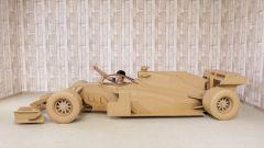 Quarantena? Mi costruisco la Ferrari di Vettel in... cartone - Video - Immagine: 1