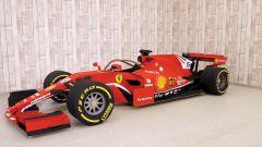 Quarantena? Mi costruisco la Ferrari di Vettel in... cartone - Video - Immagine: 4