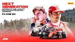 F1Rewind, la locandina del GP Austria 2019 ritrasmesso integralmente su YouTube