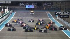 F2 GP Abu Dhabi 2019, Yas Marina: la partenza di Gara-1