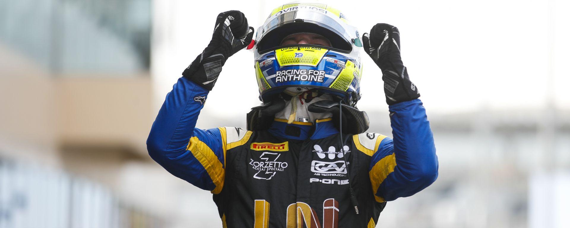 F2 GP Abu Dhabi 2019, Yas Marina: Luca Ghiotto (Uni-Virtuosi)