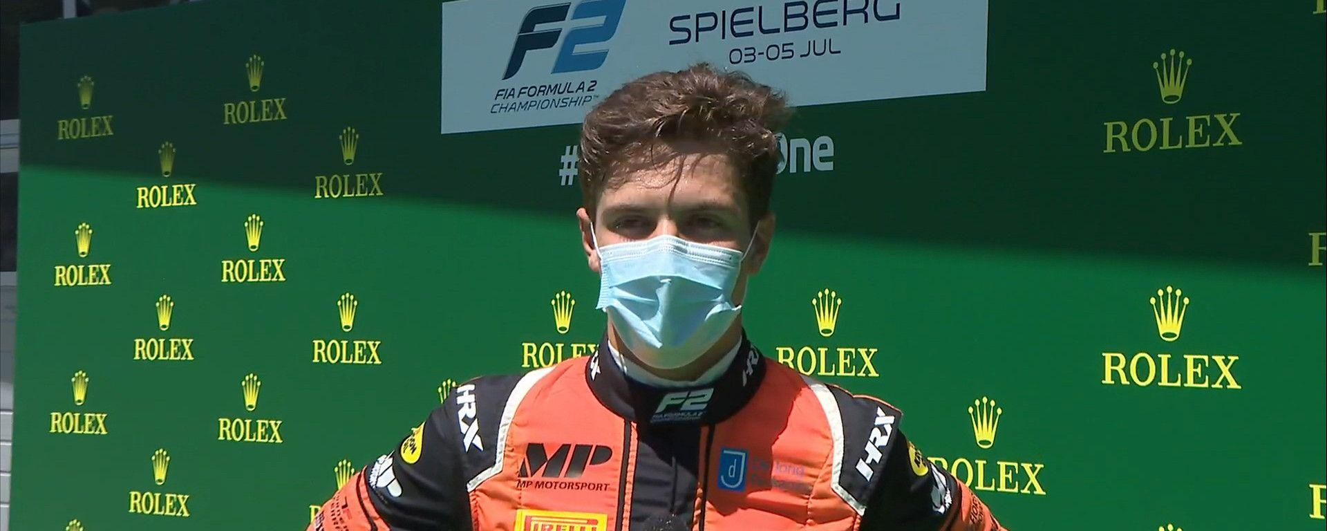 F2, GP Austria: Felipe Drugovich
