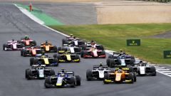 F2 Silverstone 2019, la partenza della Sprint Race