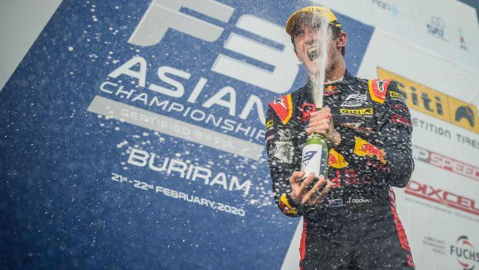 F3 Asia 2020, Buriram: il vincitore di gara-3, Jack Doohan (figlio del mitico Mick Doohan)